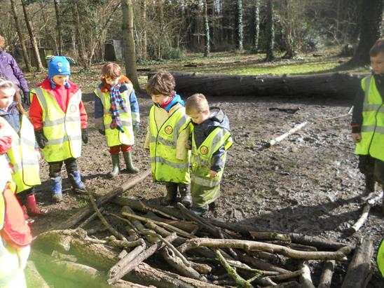 Class 1 visit to Redwood outdoor centre