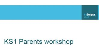 KS1 Parents Workshop